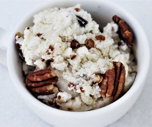 Maple Pecan Snow Cream