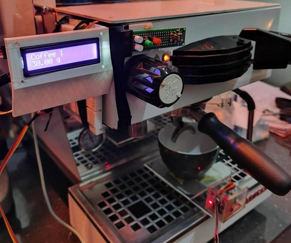 Automatic Weight Scale and Timer for Machine La Marzocco Linea Mini