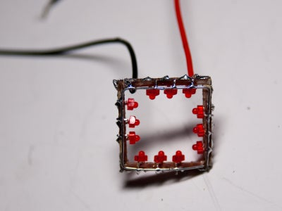 Attaching LEDs