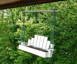 Porch Swing Bird Feeder