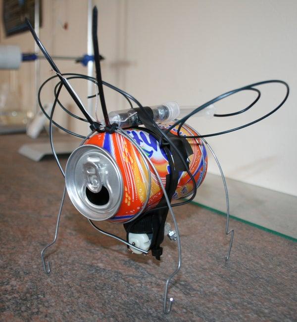 Soda Can Vibrating Bug