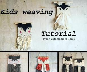 Kids Weaving for Nursery Room