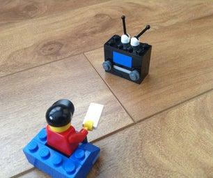 How to Make a Retro Lego Tv