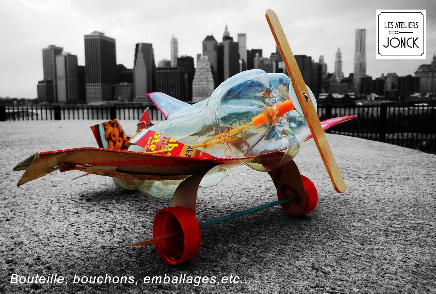 Plastic Bottle Airplane
