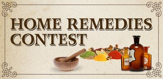 Home Remedies Contest