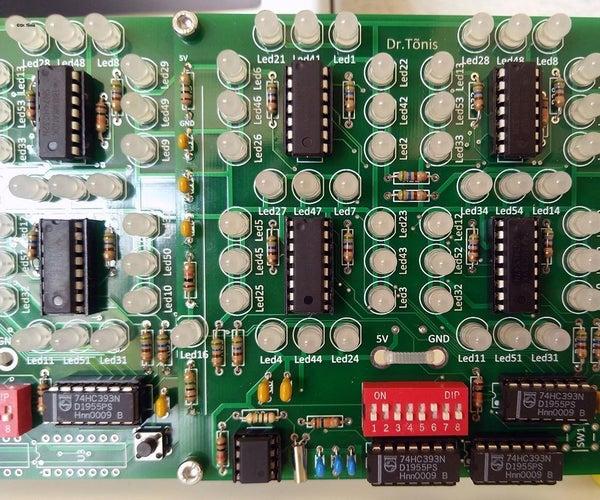 Analog Electronics Clock