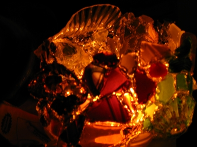 How to make an energy efficient versatile light made of recycled glass