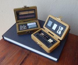 Pocket Charcoal Drawing Set