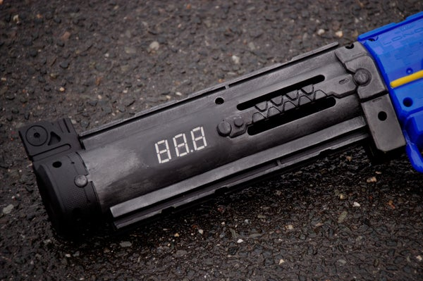 Measure the Speed of Nerf Darts