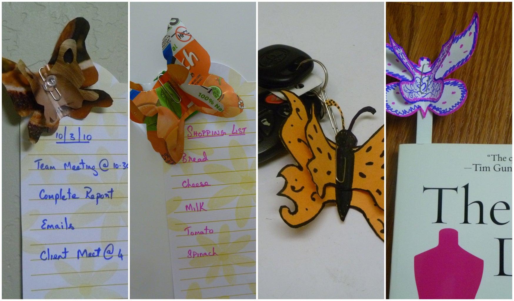 Butterflies @ My Desk