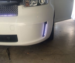 Add LED Daytime Running Lights on Scion XB