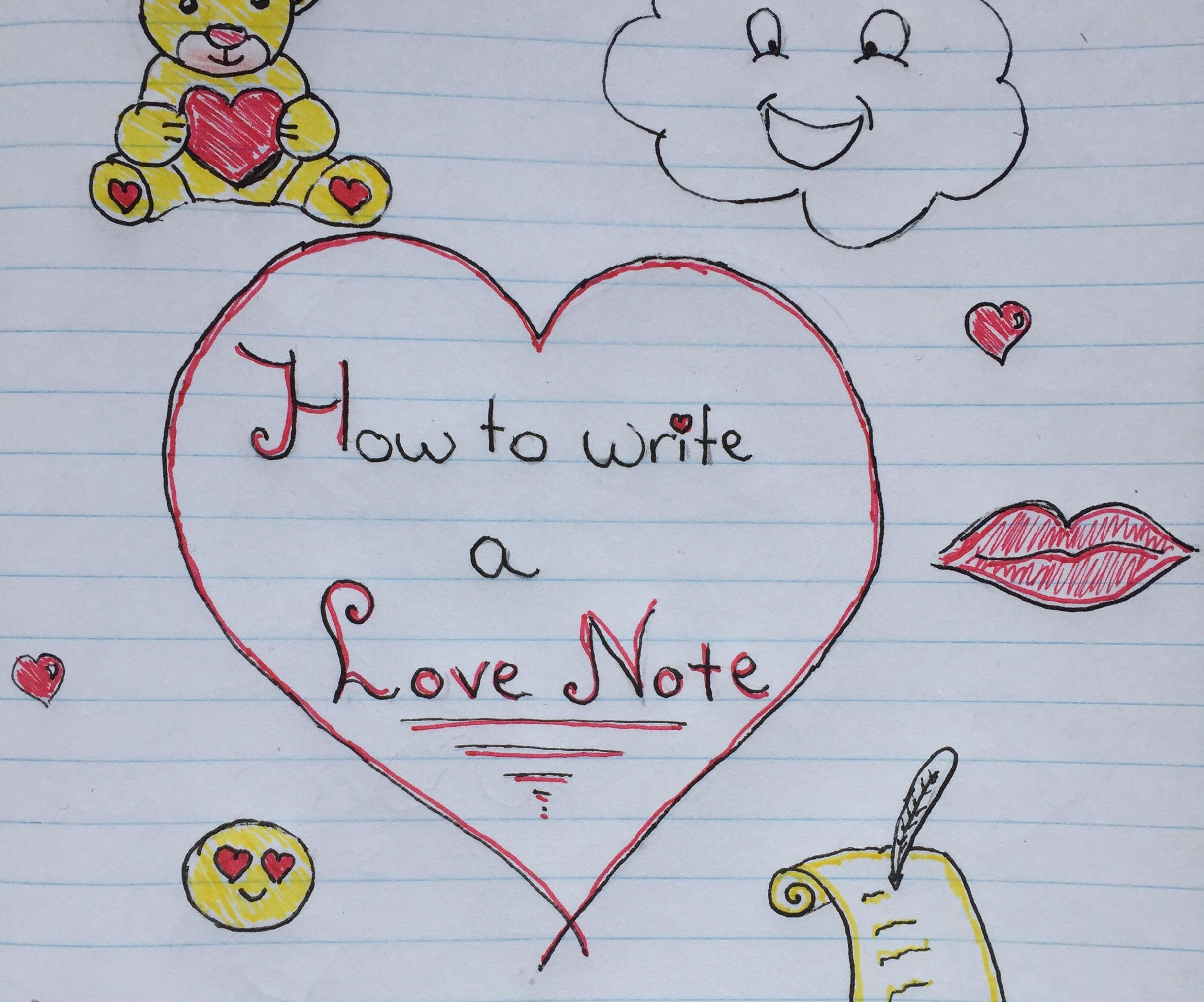 How Write a Love Note