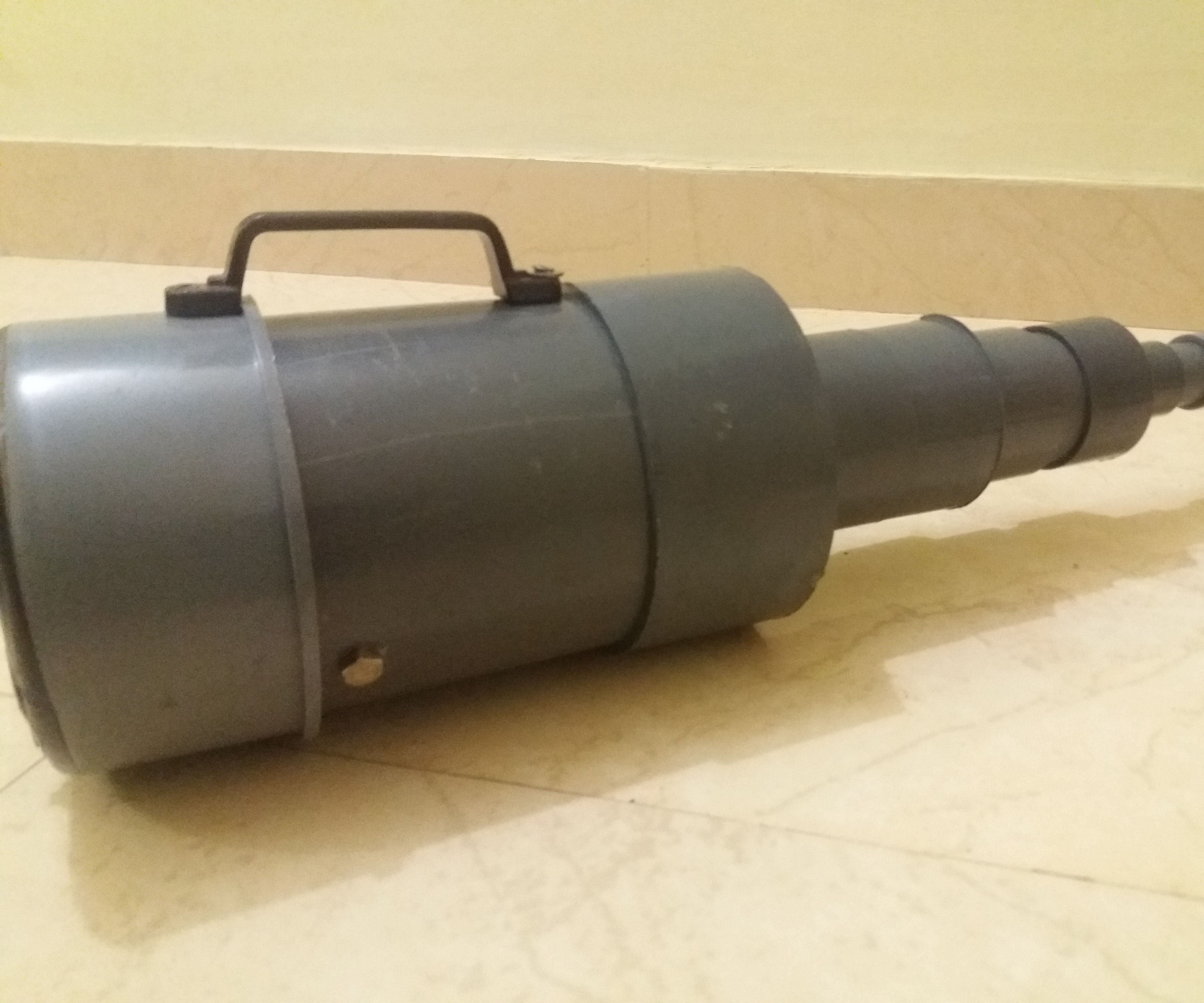Diy Vacuum Cleaner Out of Pvc