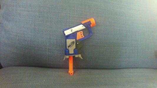 How to Make a Nerf Jolt Shoot BB's