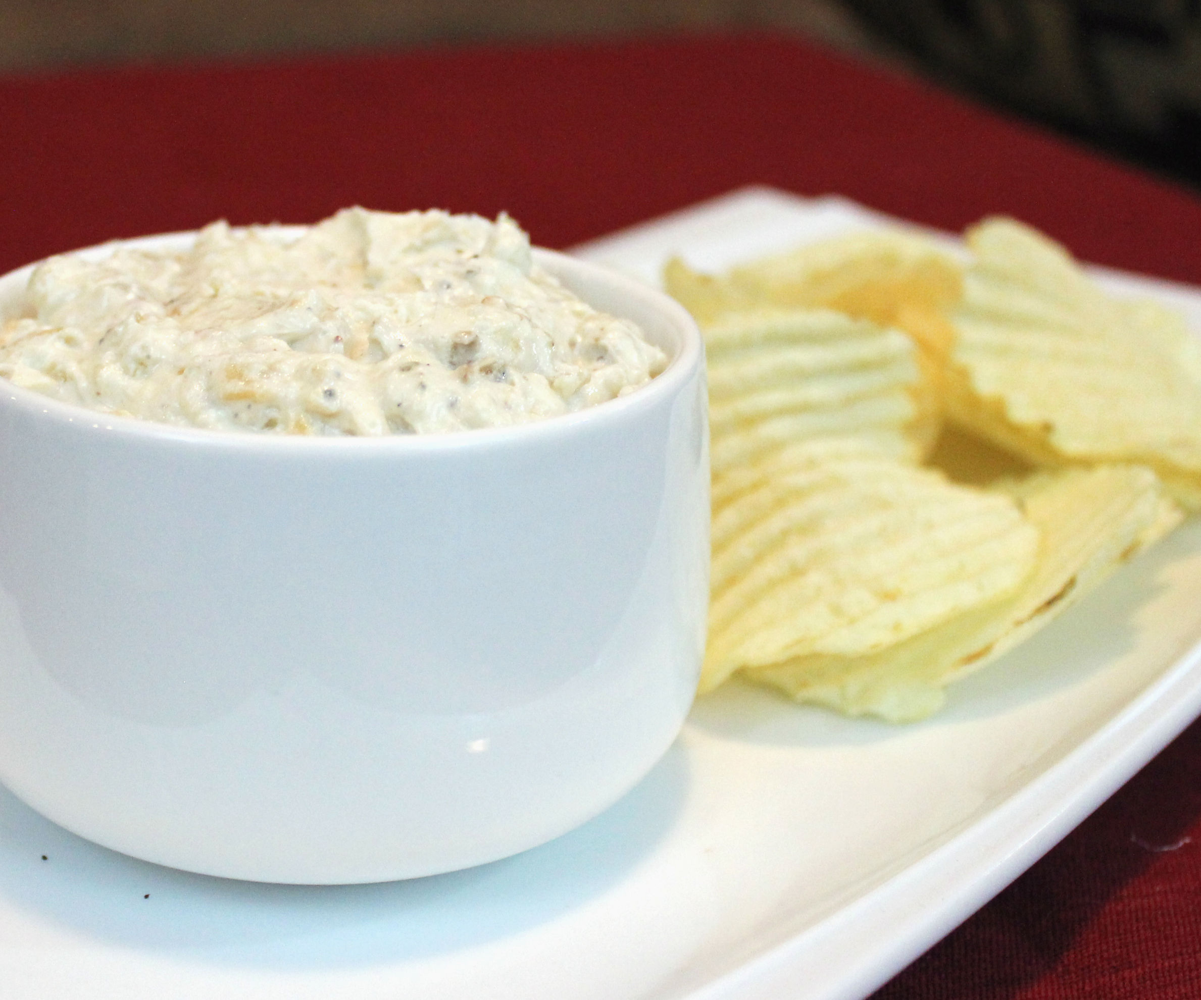 Roasted Garlic-Onion Dip | Josh Pan