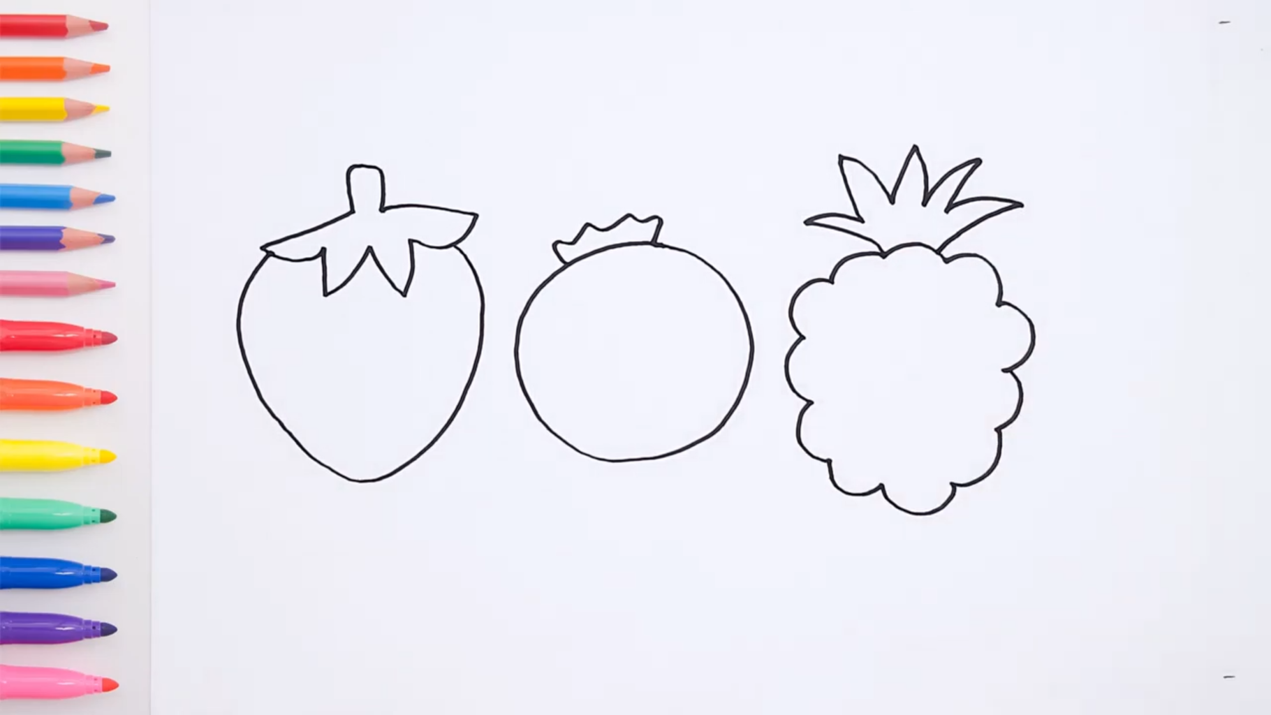 Draw the Basic Outlines