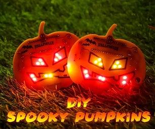 DIY Halloween Pumpkin Using Arduino