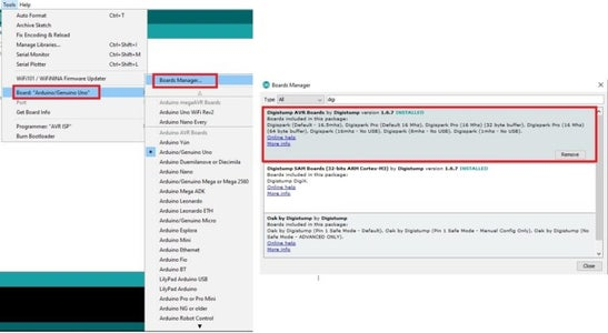 Configure Arduino IDE:
