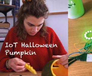 An IoT Halloween Pumpkin | Control LEDs With an Arduino MKR1000 and Blynk App 🎃👻🍭