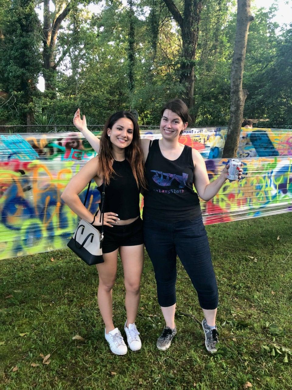 No-Mess Graffiti Party