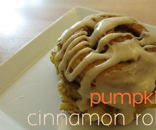 Perfect Pumpkin Cinnamon Rolls