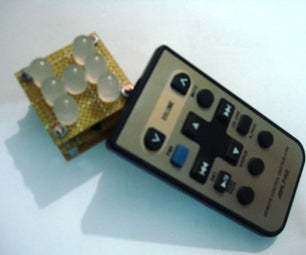 Remote Controlled Led Dice