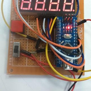 Arduino Nano LED Display