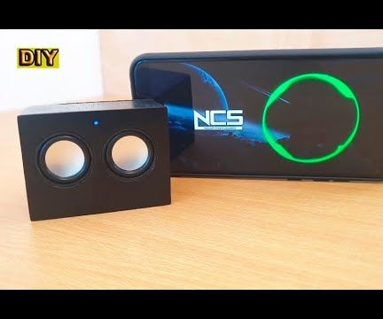 DIY: Micro Bluetooth Speaker / PC Usb Soundbar