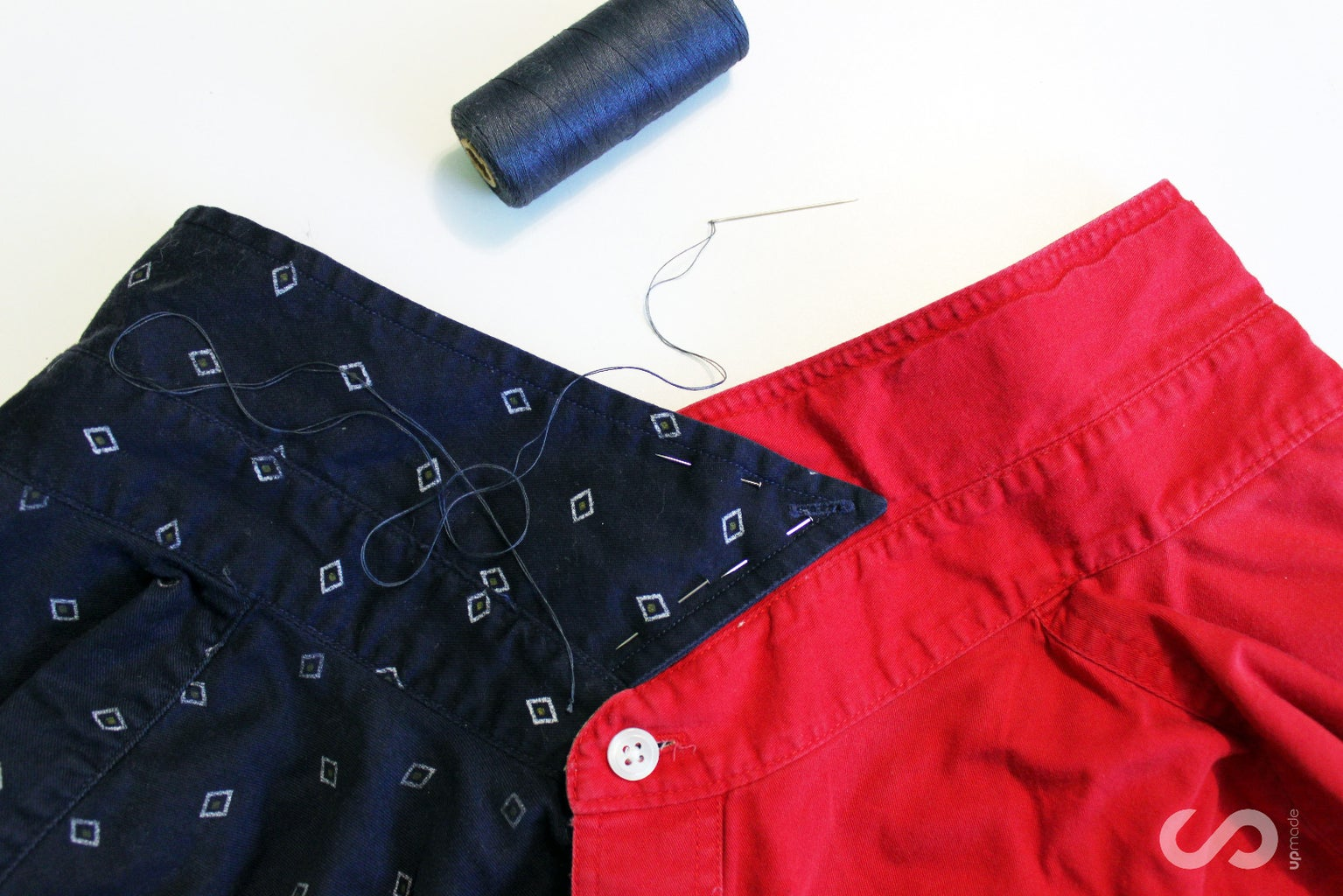 Sewing 1st Side