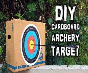 Cardboard Archery Target on a Budget (Video)