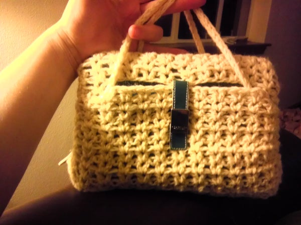 Crocheted Sprouts.. Crochet Daily Planner to Purse Cover