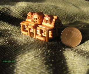 Micro Log Cabin