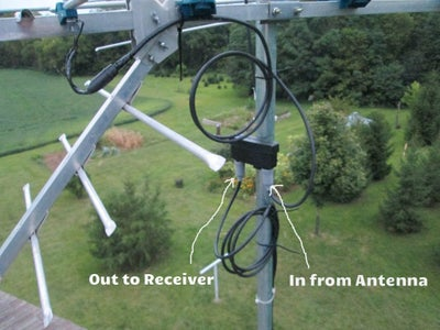 Add Preamplifier to 2nd Antenna