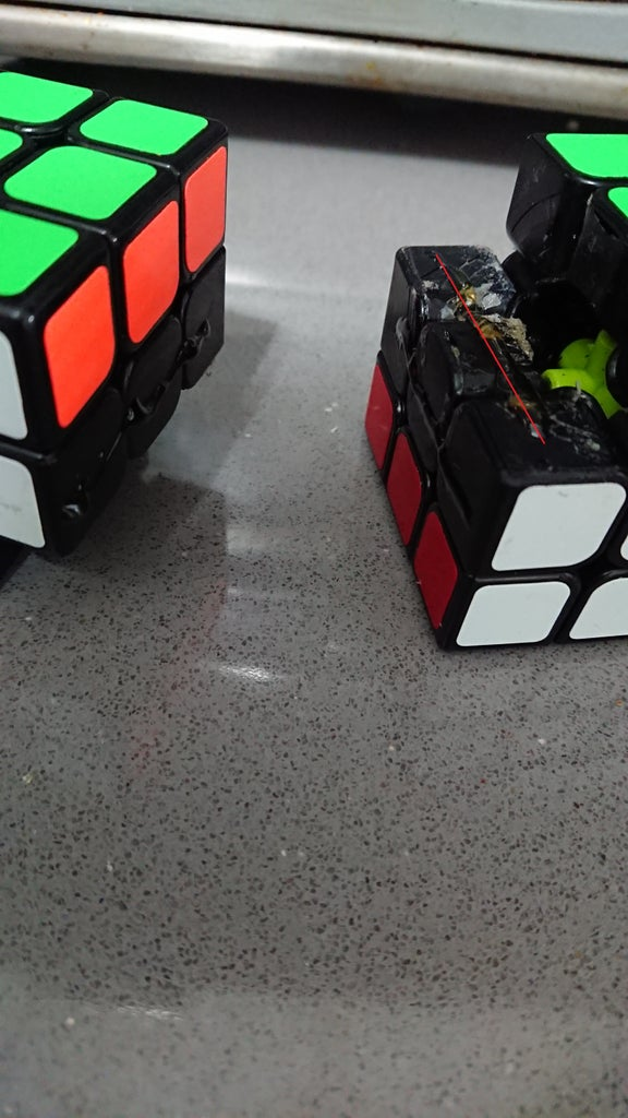 Gluing the Cubes
