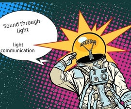 Communication in Space With Lifi Technology