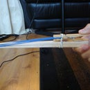 Super Simple Chopstick Rubber Band Gun