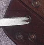 The Rosette Cutter/tooth Scraper/calliper