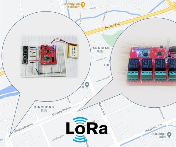Wireless Control With Lora