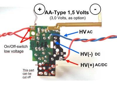 AA-Type Driven Lights