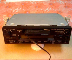 How to Hide Your Cassette Adapter Wire