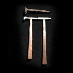Making Hammers From a Railroad Spike