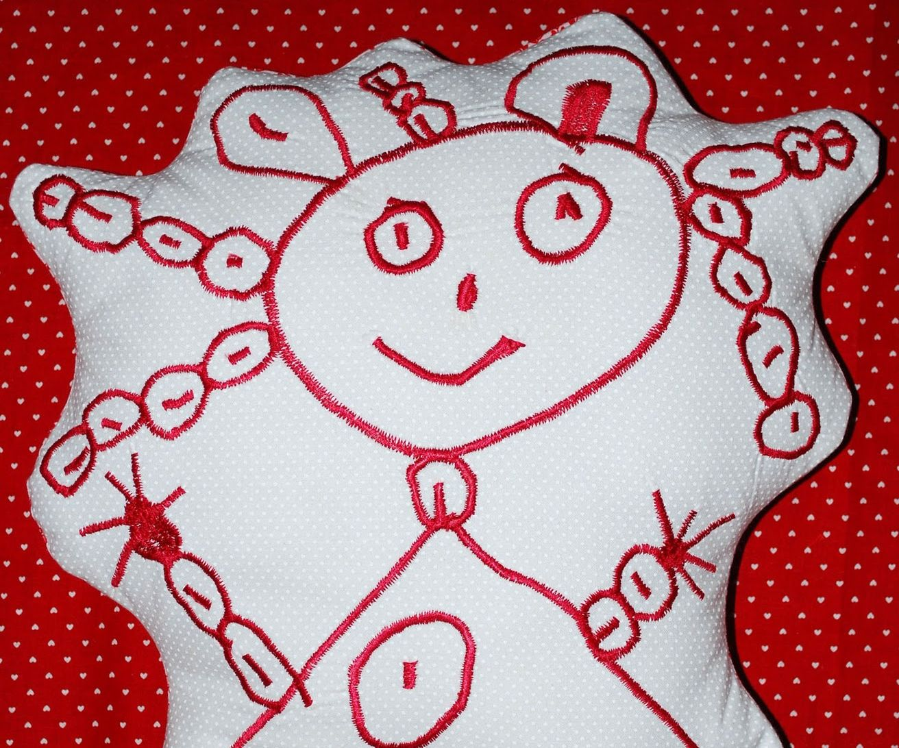 Turn a Child's Drawing Into an Embroidered Plushie