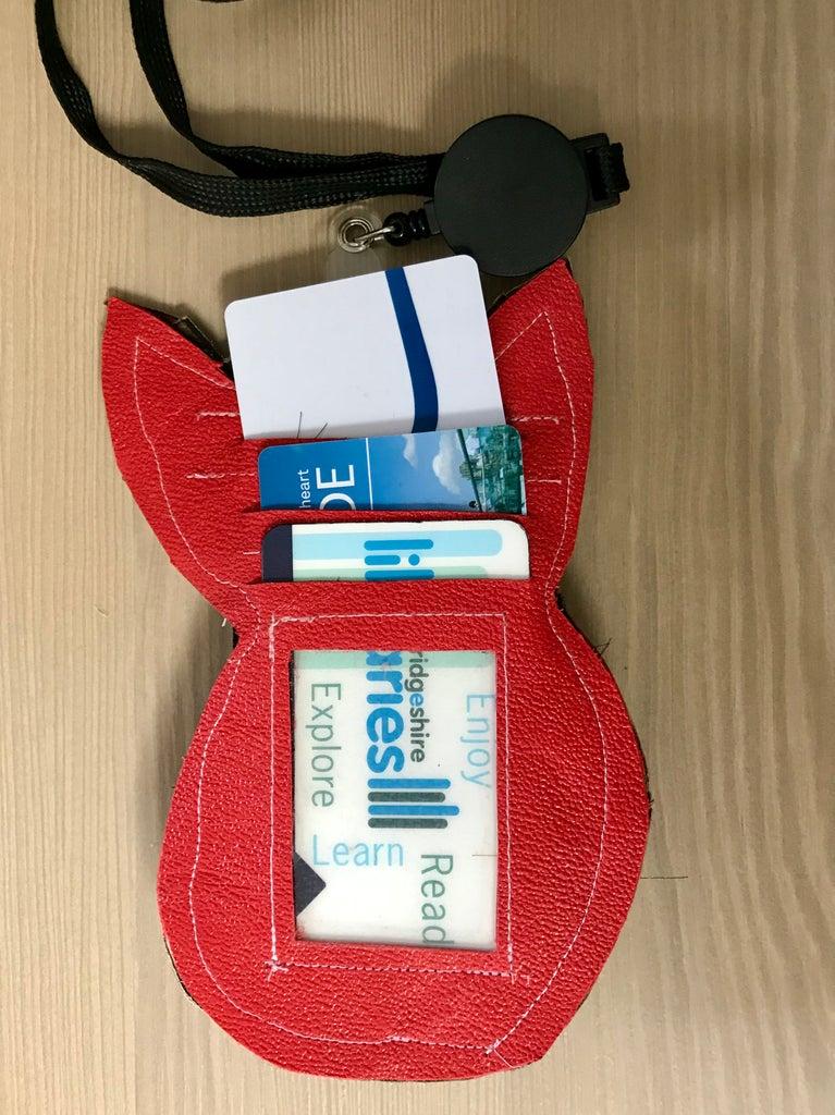 Woodland Card Holder / Luggage Tag