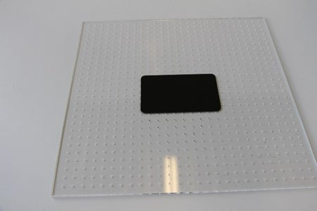 Prep Transfer Plate for Selective Adhesion
