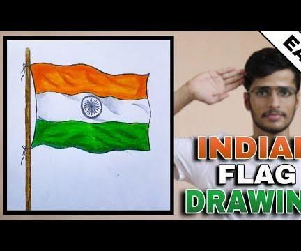 HOW TO DRAW NATIONAL FLAG OF INDIA