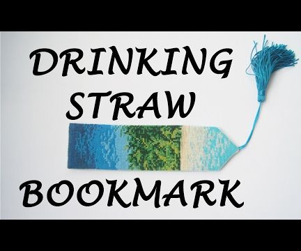 How to Make a Drinking Straw Bookmark