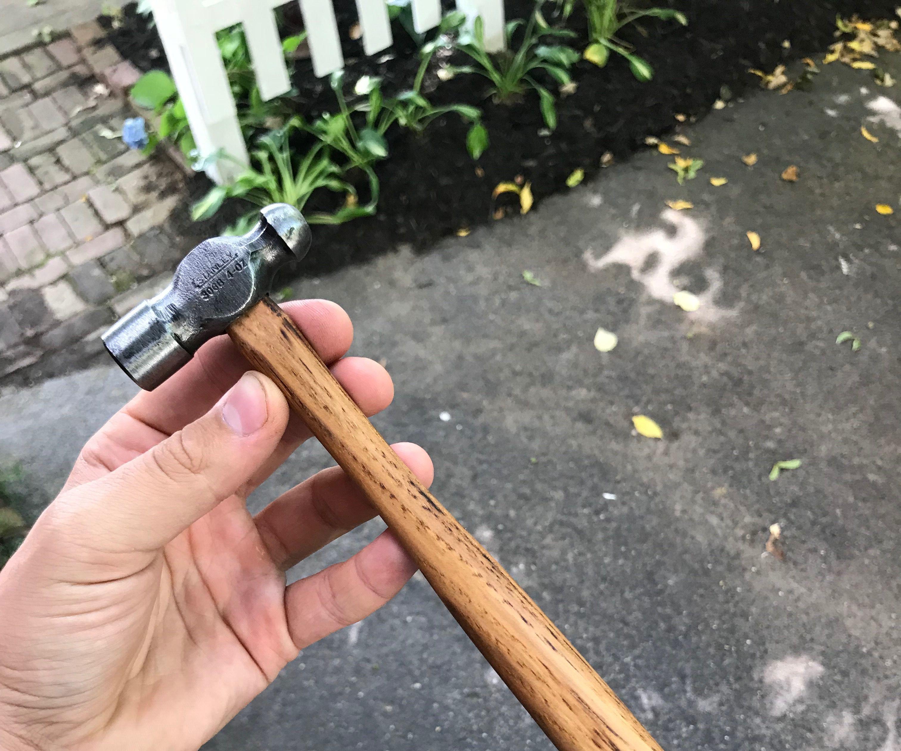 Restoring a Mini Ball Peen Hammer