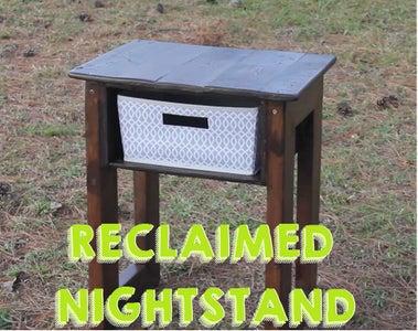 Reclaimed Nightstand