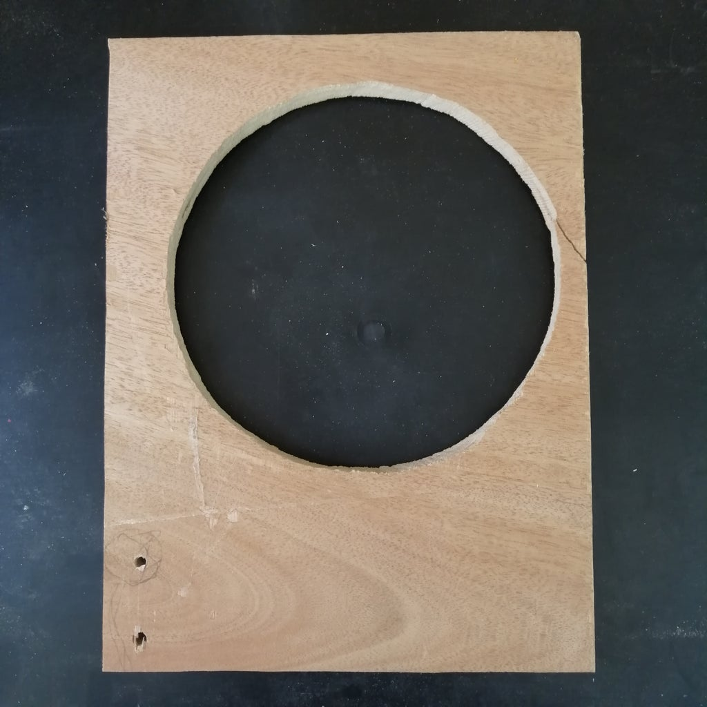 Wood With a Hole