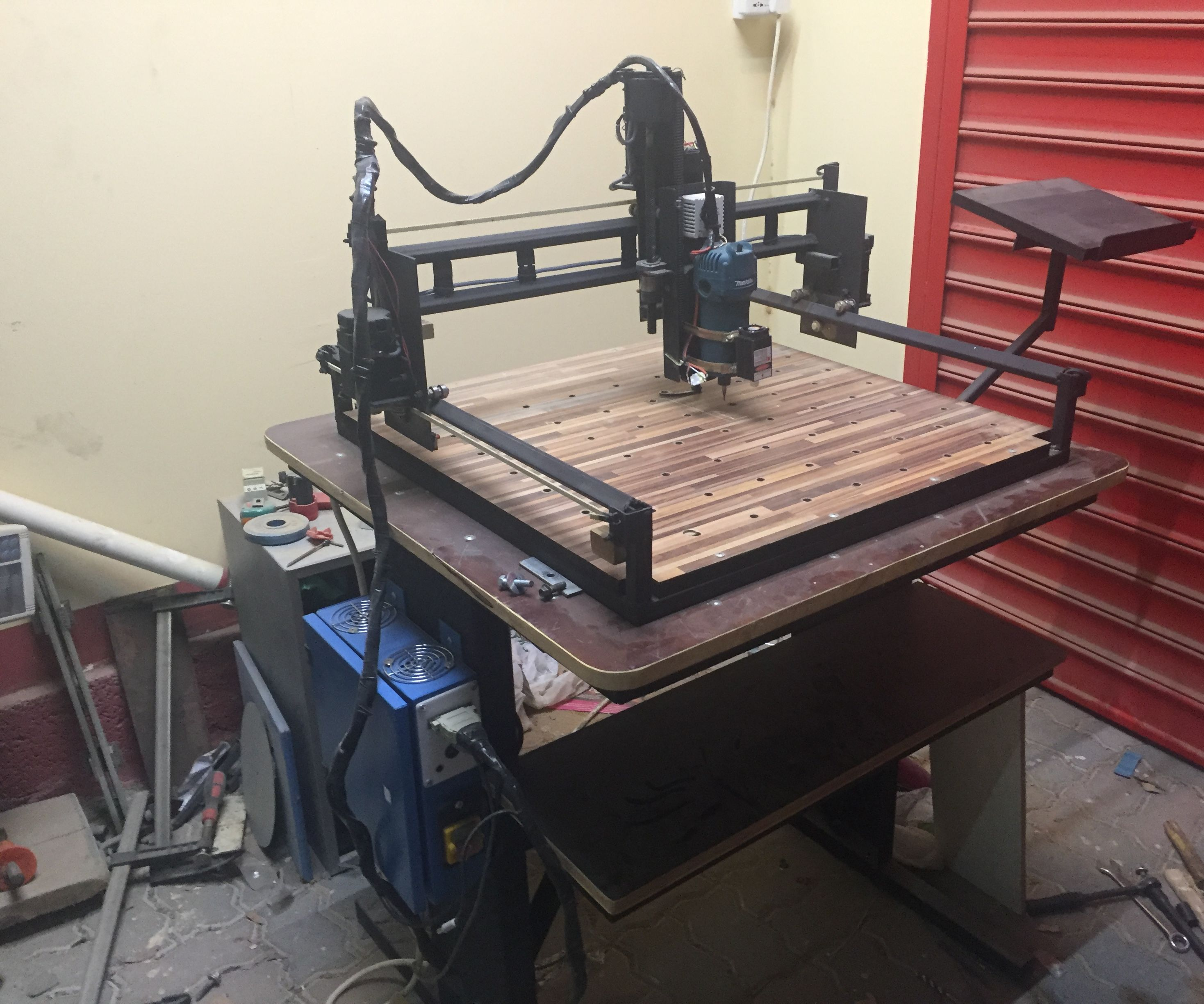 DIY X-Carve build   3 Axis CNC Machine with laser engraving